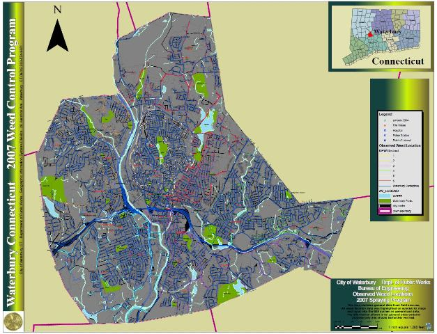 City of Waterbury GIS