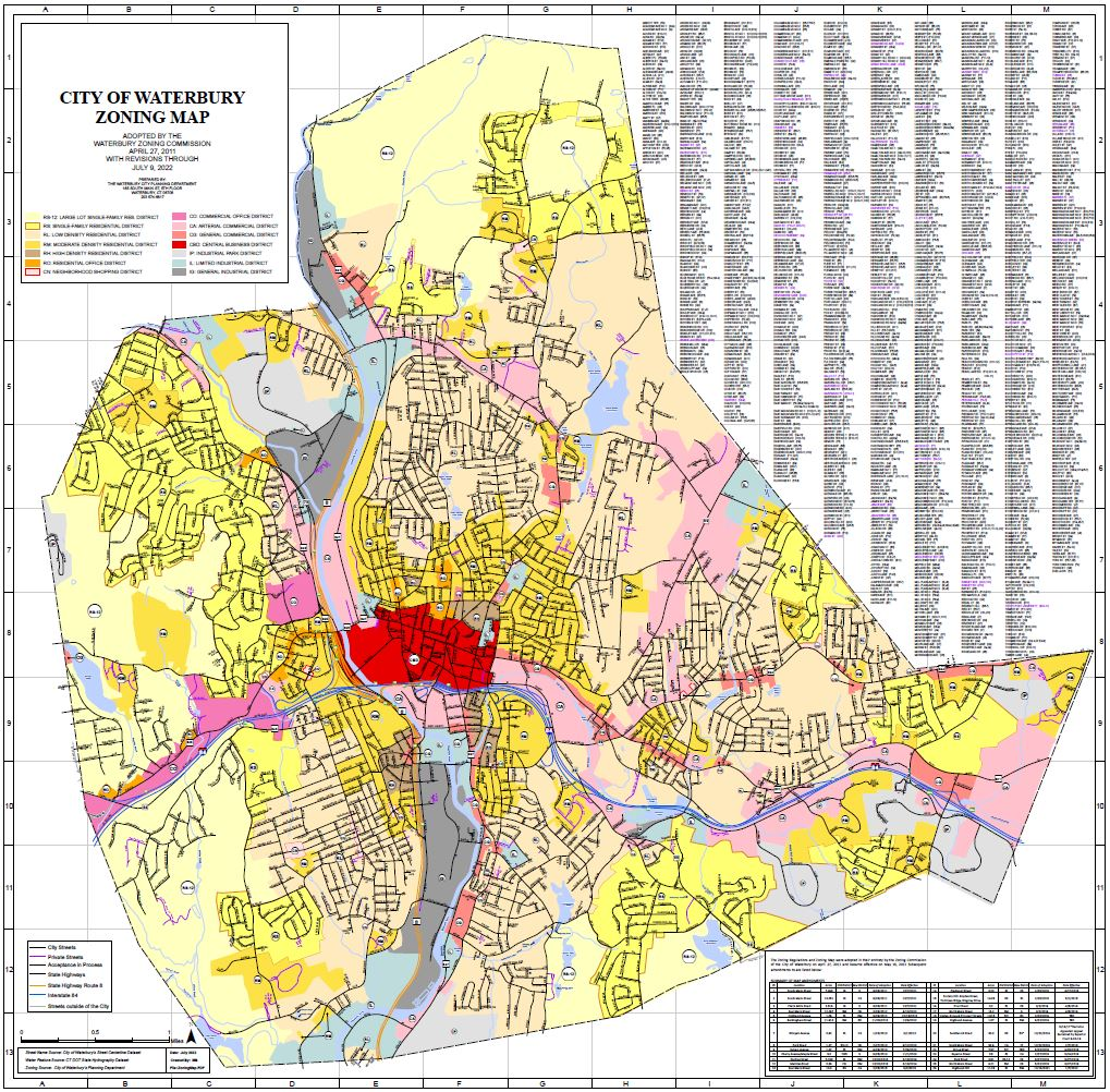 City of Waterbury GIS